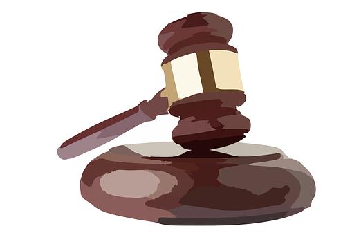 ハンマー, オークション, 機関, 弁護士, 記号, 裁判所, トライアル