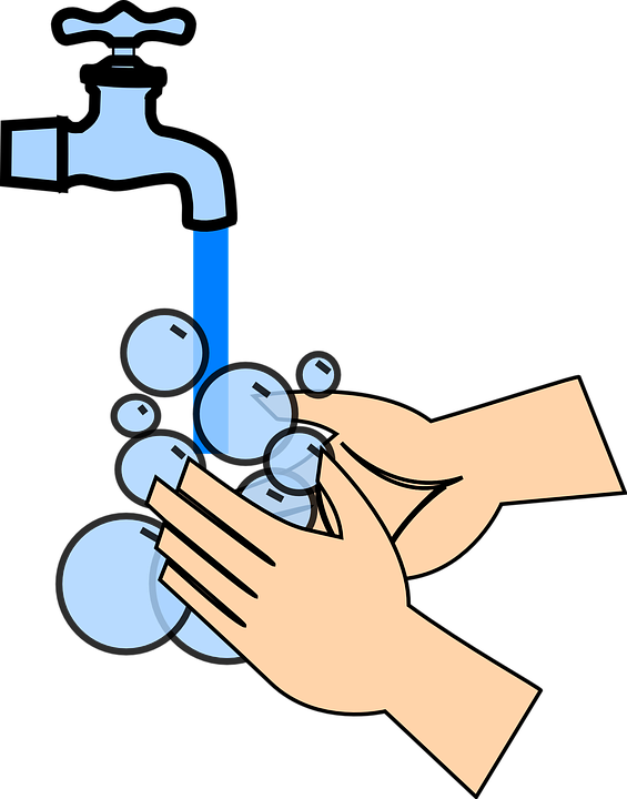 hands washing hygiene free vector graphic on pixabay