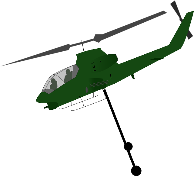 Free vector graphic: Helicopter, Airdrop, Aircraft - Free ...
