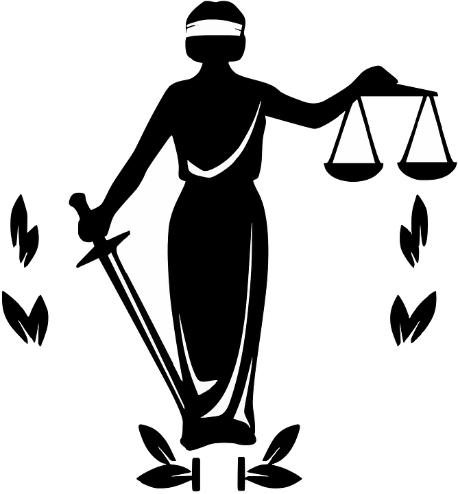 free vector graphic law  justice  justizia  blind free Clip Art Black and White Cake Black and White Checks and Balances Clip Art