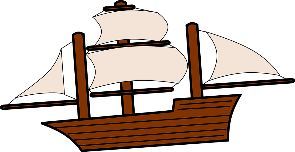 Sailing Ship Boat · Free vector graphic on Pixabay