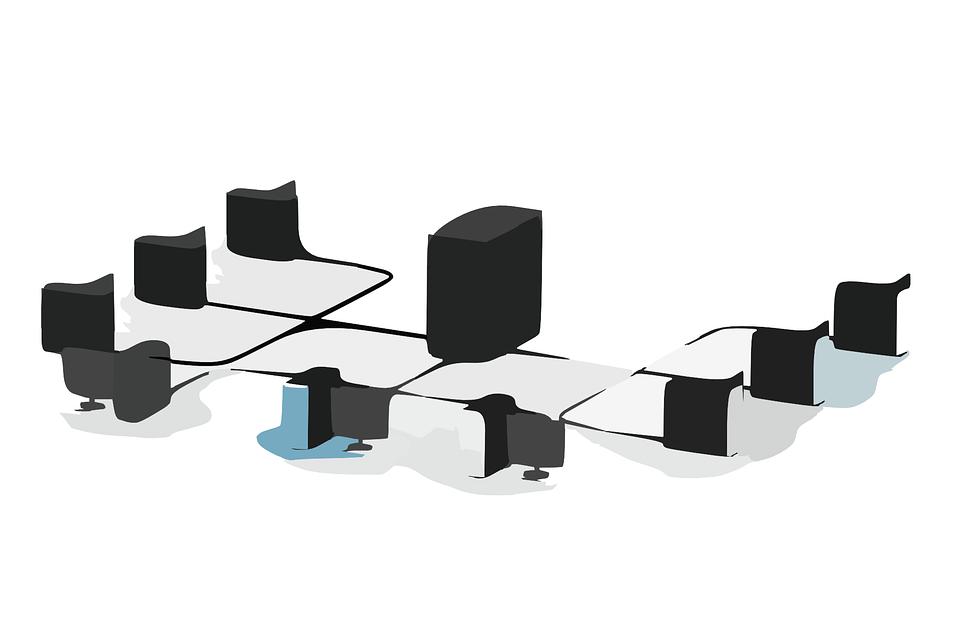 サーバー, ネットワーク, ローカル, ワイヤード 有線, ファイルサーバ, コンピュータ, 技術, データ