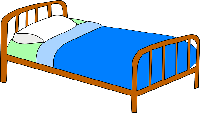 Cama hospital m dica free vector graphic on pixabay for Cama 3d dibujo