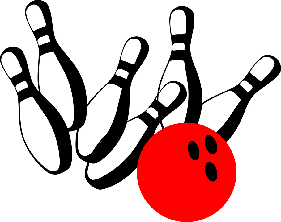 Bowling Pins Ball Free Vector Graphic On Pixabay
