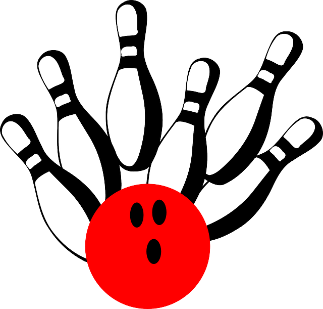 Bowling Pins Ball · Free vector graphic on Pixabay