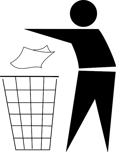 Trash Can Bin Garbage 183 Free Vector Graphic On Pixabay
