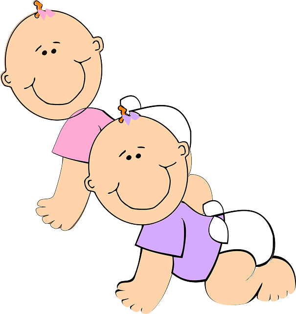Free vector graphic: Babies, Crawling, Baby, Child - Free ...