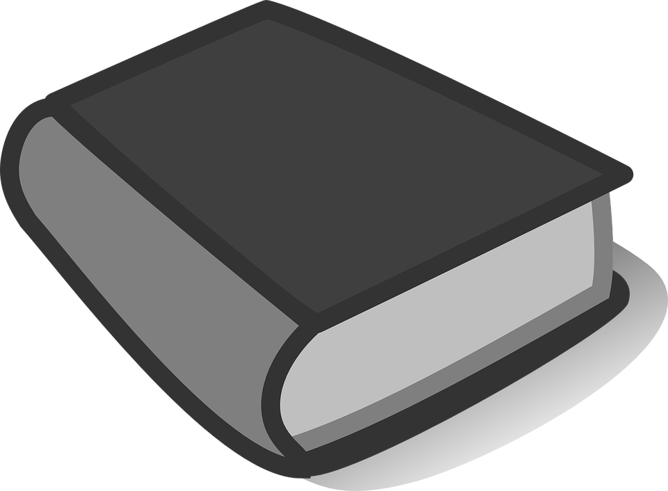 Book Black Closed Free Vector Graphic On Pixabay