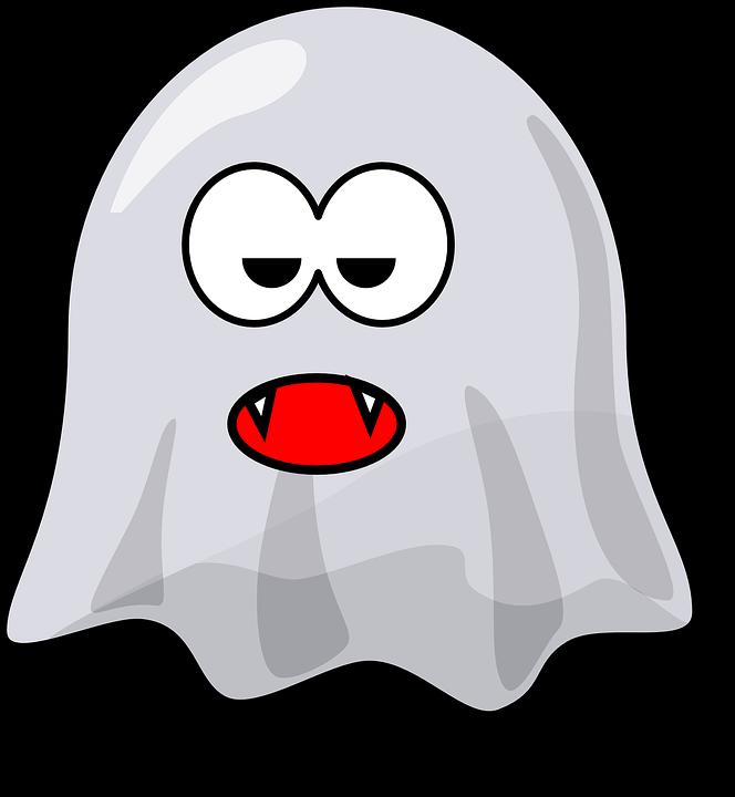 Ghost Dracula Teeth Free Vector Graphic On Pixabay