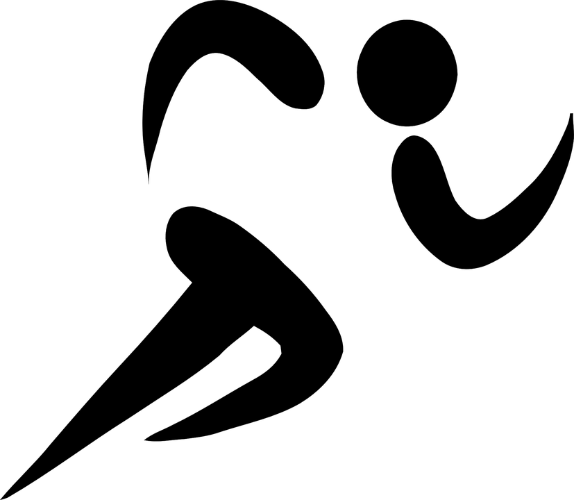 Run Symbol Black Free Vector Graphic On Pixabay