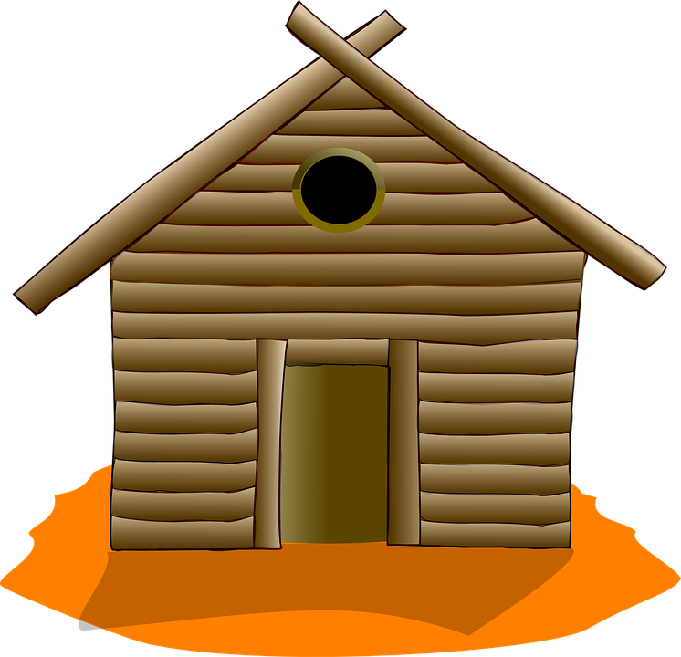 Log Cabin House Home Rustic