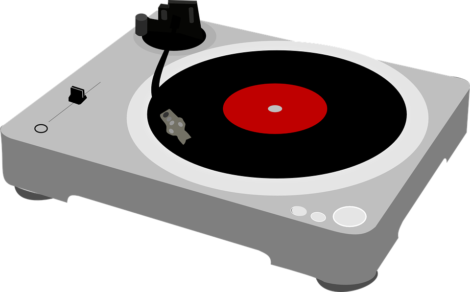 Free vector graphic: Turntable, Record Player, Music  Free Image on