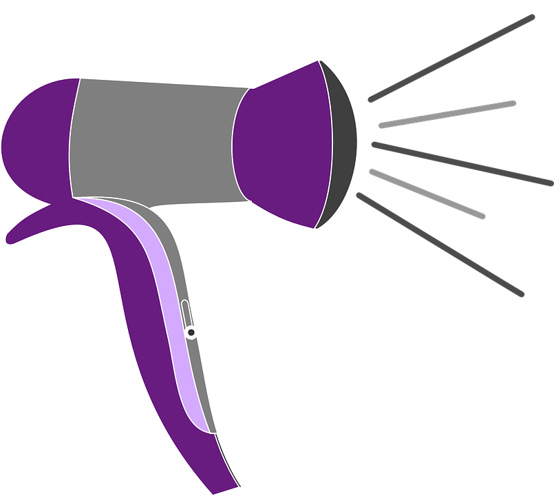 Animated Hair Dryer ~ Free vector graphic blow dryer drier hair blower