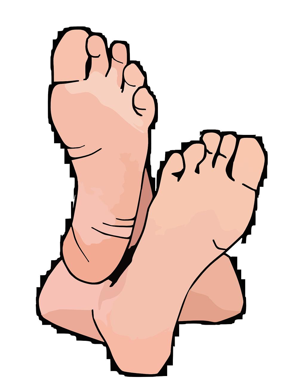 Ноги картинки для детей нарисованные