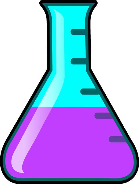 free vector graphic  flask  liquid  calibration - free image on pixabay