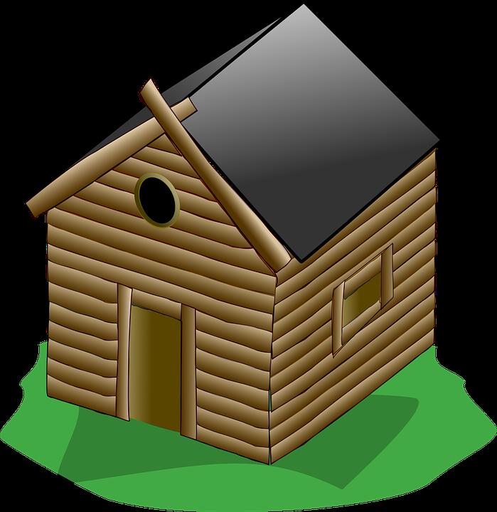 Image vectorielle gratuite loghut cabane bois porte image gratuite sur pixabay 311659 - Porte cabane bois ...