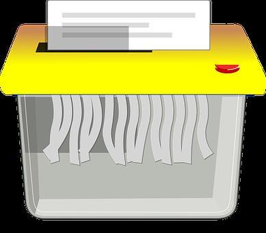 シュレッダー, ドキュメント, ペーパー シュレッダー, 機密情報, ビジネス