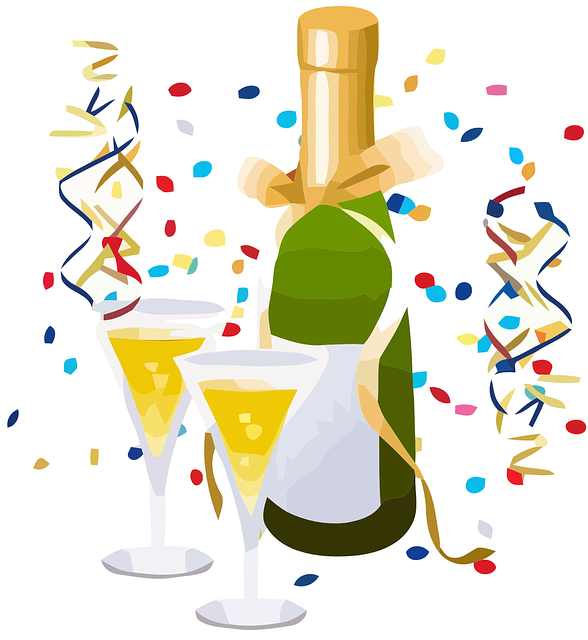 Free vector graphic celebrate toast champagne free - Comment peindre un verre transparent ...