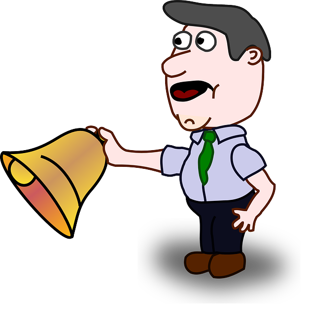 Man Bell School · Free vector graphic on Pixabay