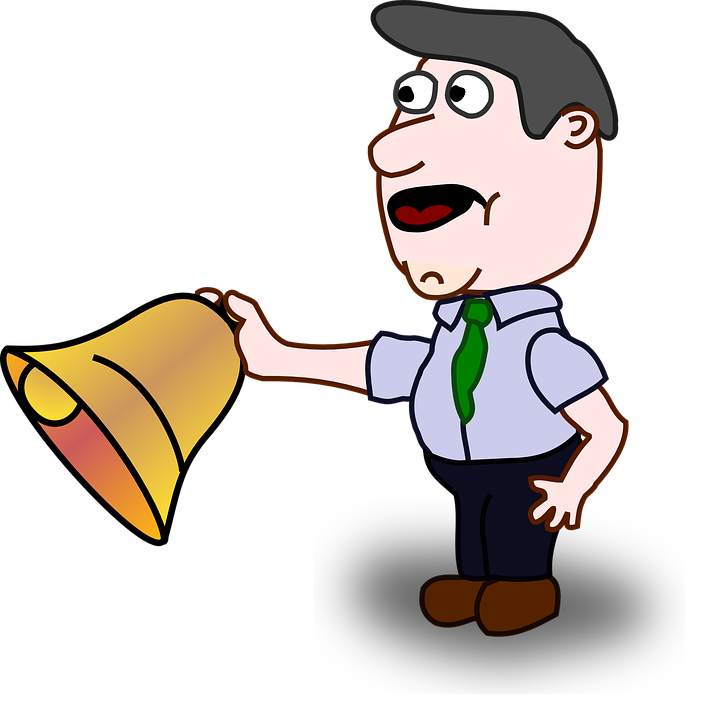 free clipart school bell - photo #45