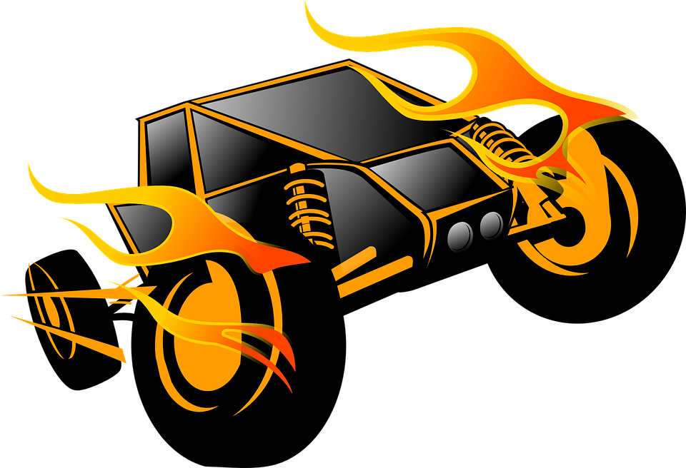 Free Vector Graphic Race Car Race Speed Auto Black Free