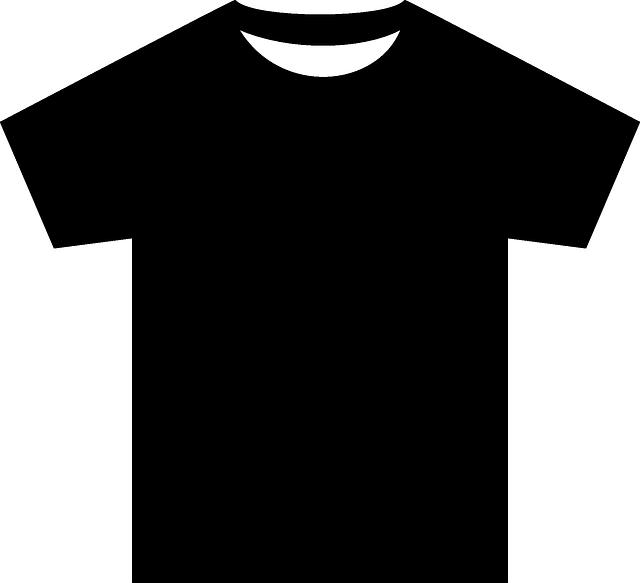 Shirt 640 Mentahan Hitam
