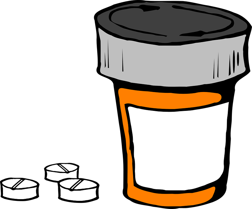 pill bottle medicine prescription free vector graphic on pixabay rh pixabay com  pill bottles clip art