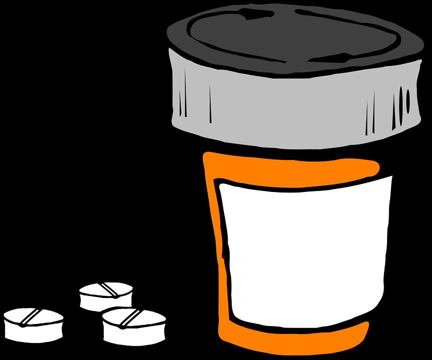 pill bottle medicine prescription free vector graphic on pixabay rh pixabay com clipart medicine bottle Pill Bottle Clip Art