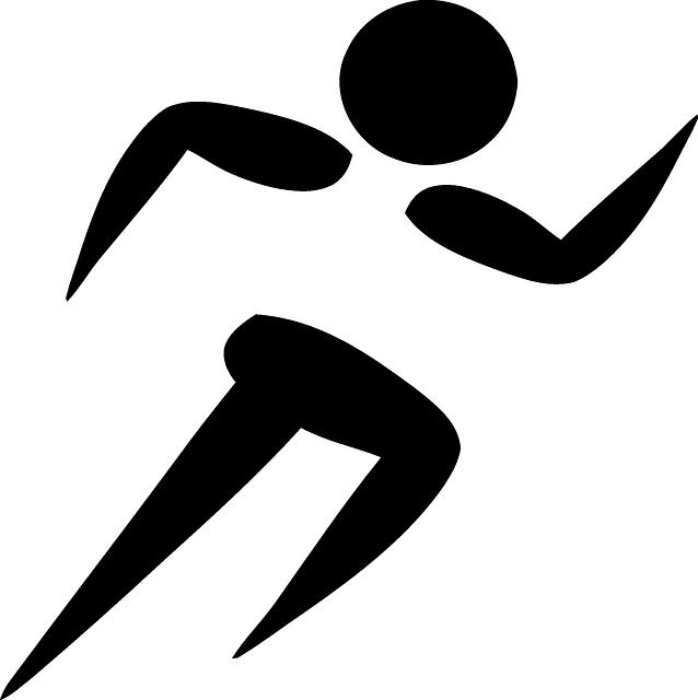 Kostenlose Vektorgrafik: Laufen, Sport, Läufer, Athlet ...