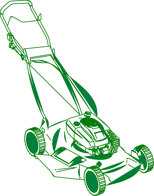 lawn mower vector - photo #32