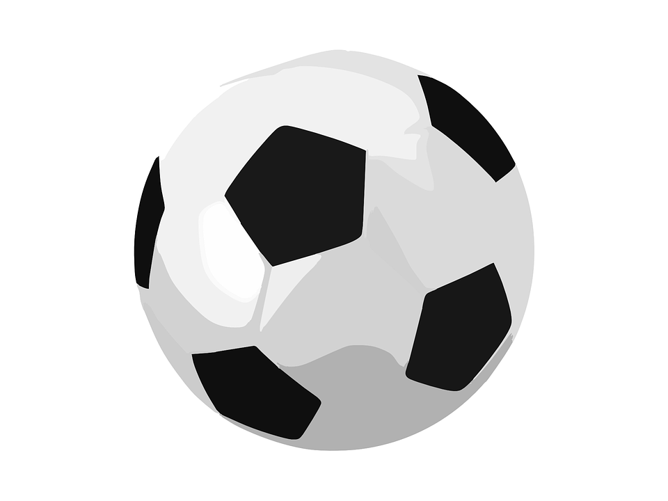 Fondos De Pantalla Fútbol Pelota Silueta Deporte: Soccer Ball Football · Free Vector Graphic On Pixabay