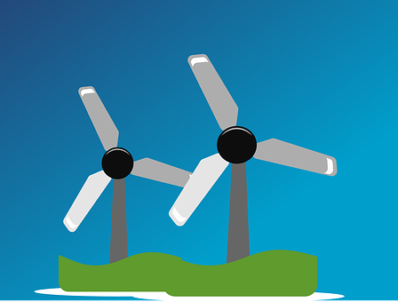 Wind Farm, Windpower, Wind Park