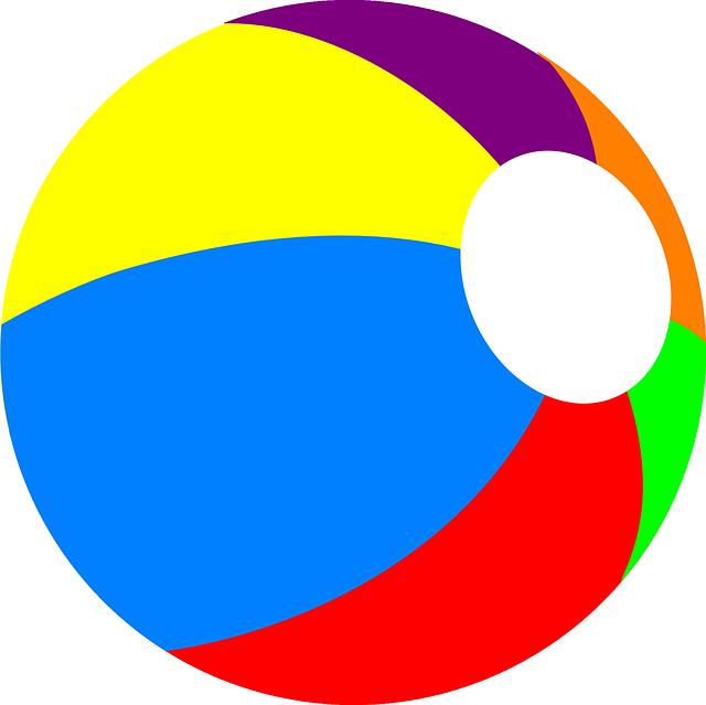 Beachball Ball Beach · Free vector graphic on Pixabay