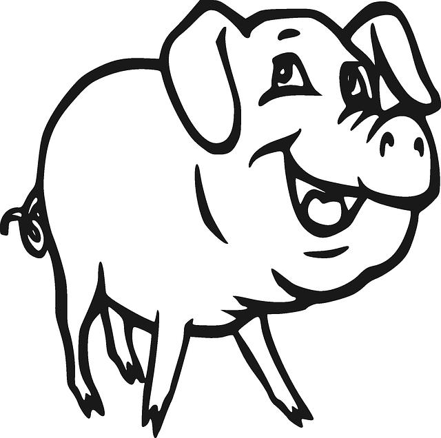 Schwein Schweine Schweinefleisch · Kostenlose Vektorgrafik ...