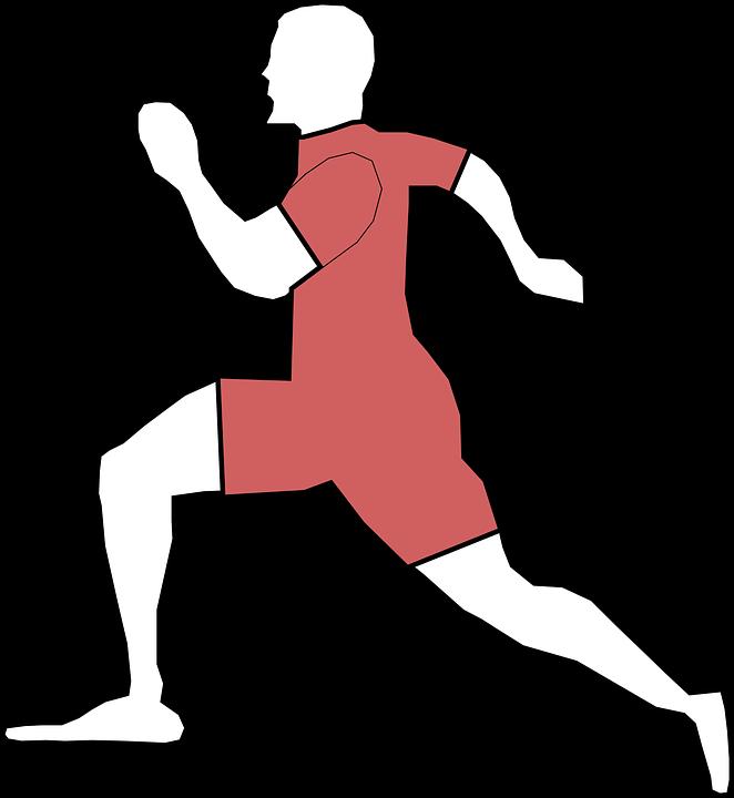 Adam Koşu Erkek Pixabayda ücretsiz Vektör Grafik