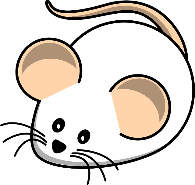 Free vector graphic mouse white mouse field animal for Field mouse cartoon