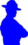 trooper, police, policeman