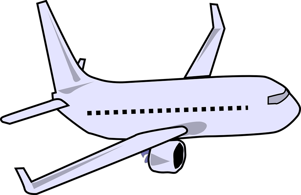 Airplane Travel Journey · Free vector graphic on Pixabay