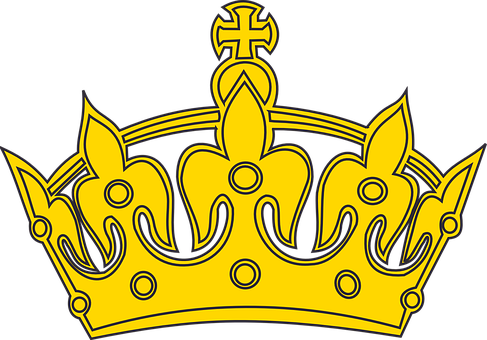 Crown Symbol Design Decoration King E