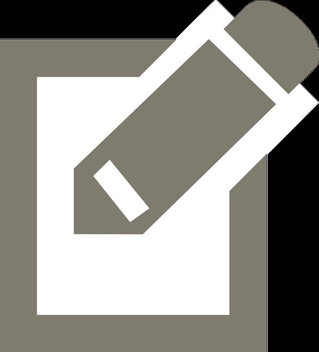 kostenlose vektorgrafik schreiben icon symbol grau kostenloses bild auf pixabay 312112. Black Bedroom Furniture Sets. Home Design Ideas