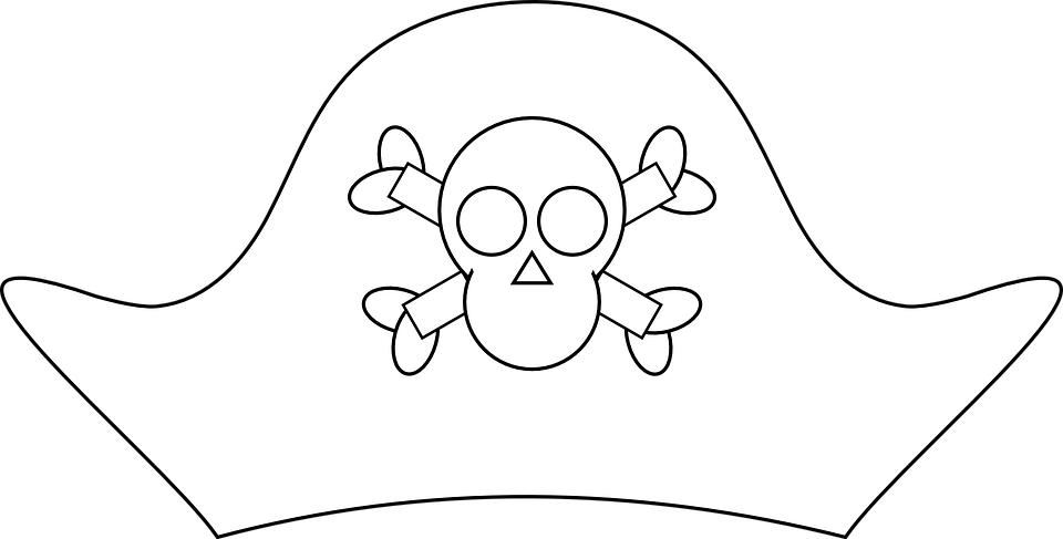 Korsan şapkası Kafatası Ve Pixabayda ücretsiz Vektör Grafik