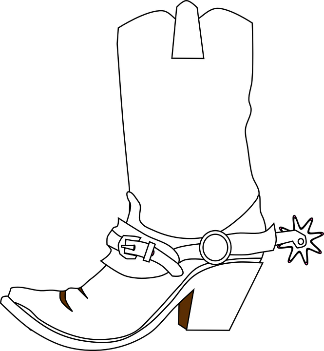 Boot Outline Clip Art