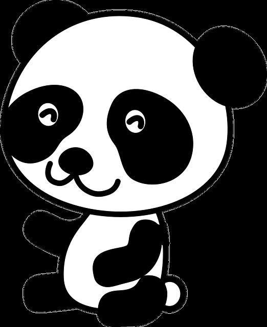 Clipart Panda Free Clipart Images: Panda Bear Cute · Free Vector Graphic On Pixabay