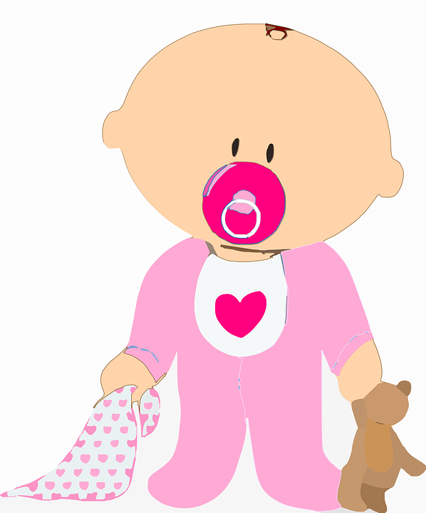 baby infant toddler  u00b7 free vector graphic on pixabay baby pacifier clipart blue baby pacifier clipart