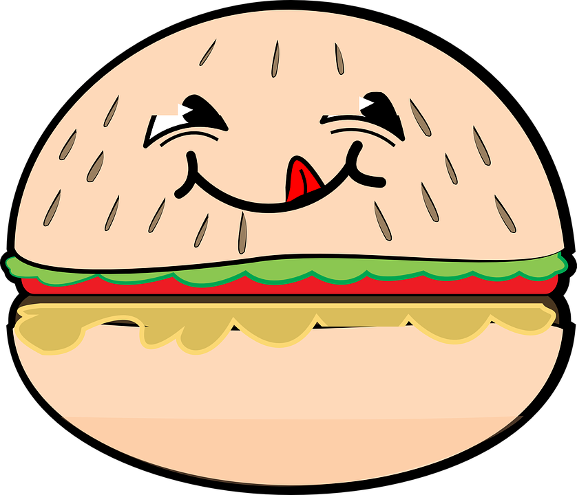 Hamburguer Sorriso Desenhos Grafico Vetorial Gratis No Pixabay