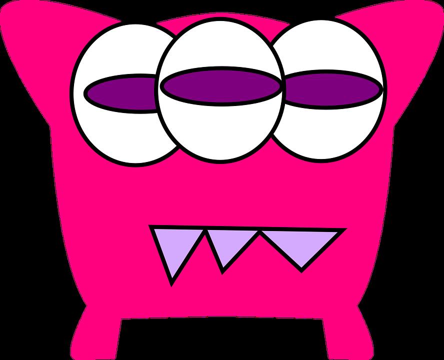 Monster Zähne Augen Kostenlose Vektorgrafik Auf Pixabay