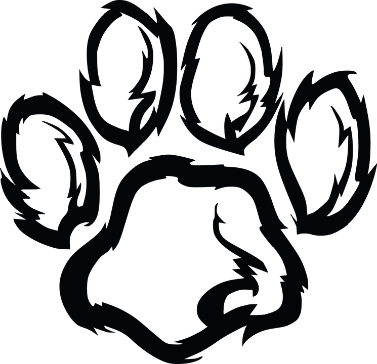 paw paw print dog animal print cat pet bear - Animal Pictures To Print Free