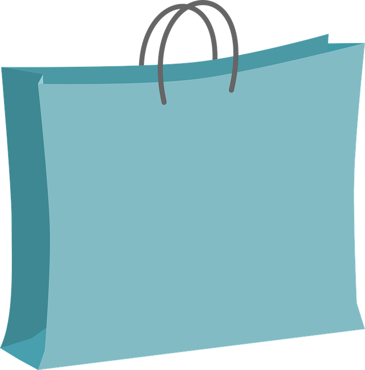 Shopping Bag Free Vector Graphic On Pixabay