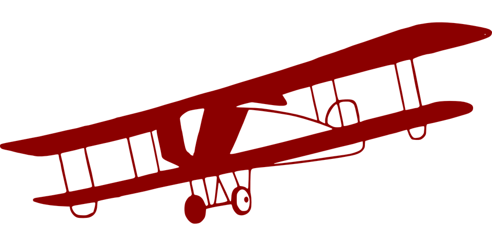 airplane aviation light aircraft free vector graphic on pixabay rh pixabay com red vintage airplane clipart vintage aviation clipart