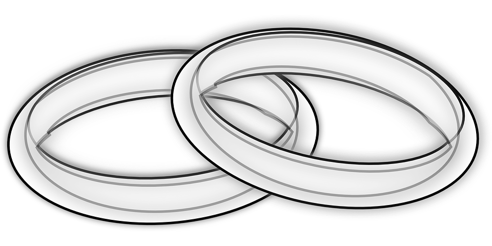 rings wedding bands free vector graphic on pixabay. Black Bedroom Furniture Sets. Home Design Ideas